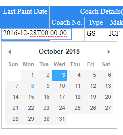 And After That If I Select A Date From Datepicker It Gets Converted To Mm Dd Yyyy And Sometimes Nan Nan Nan Because Date Is Taking The Place Of Month